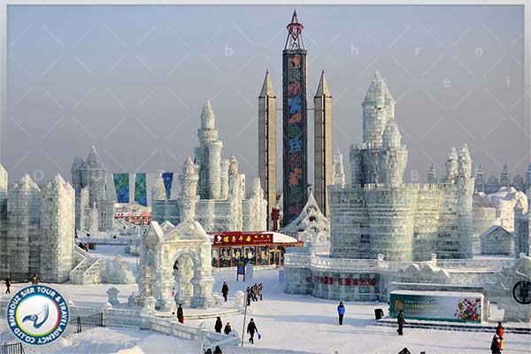 فستیوال-یخ-ها-در-جشنواره-های-زمستانی-چین-بهروزسیر