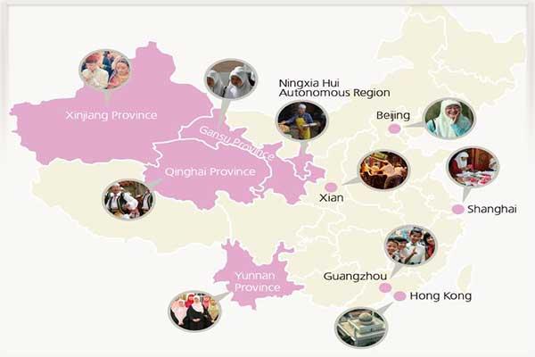 مناطق مسلمان نشین چین-بهروزسیر