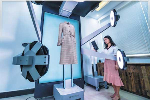 هوش مصنوعی در طراحی مد لباس ، تکنولوژی جدید از سوی چینی ها