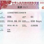 نمونه فرم ویزای چین -بهروزسیر