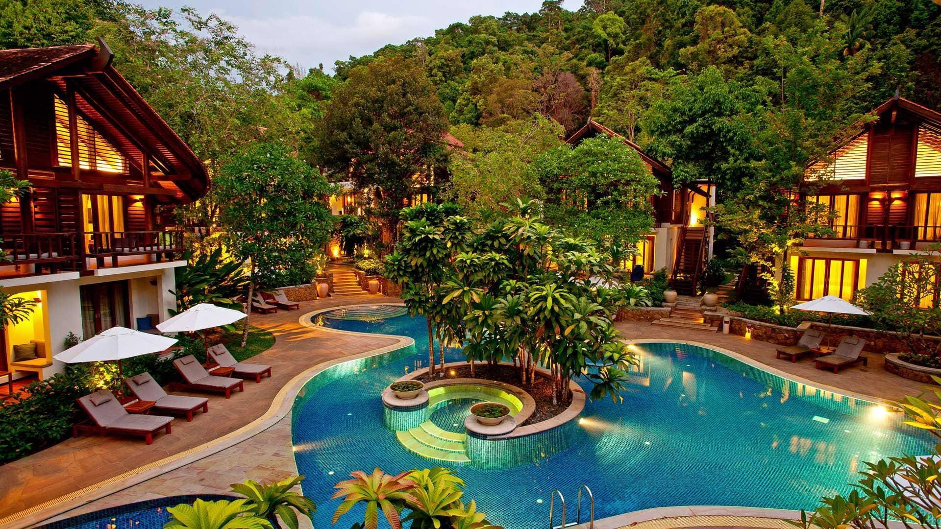 هتلی در کرابی تایلند