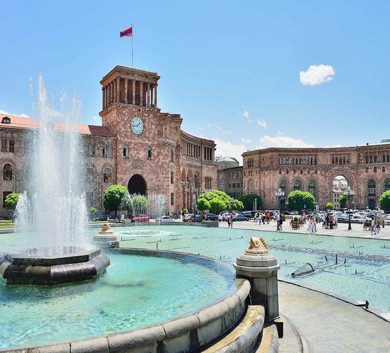 یکی از شهرهای ارمنستان | بهروزسیر