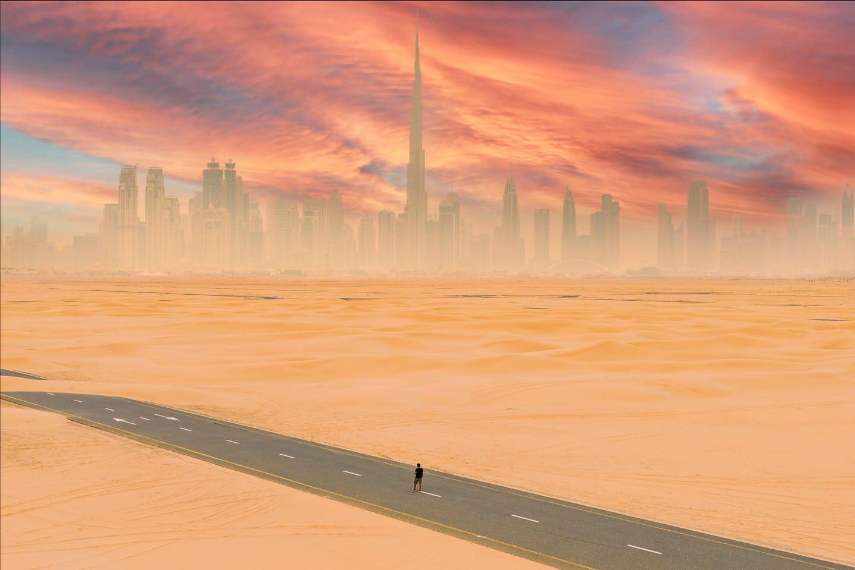 گرما در دبی - بهروزسیر